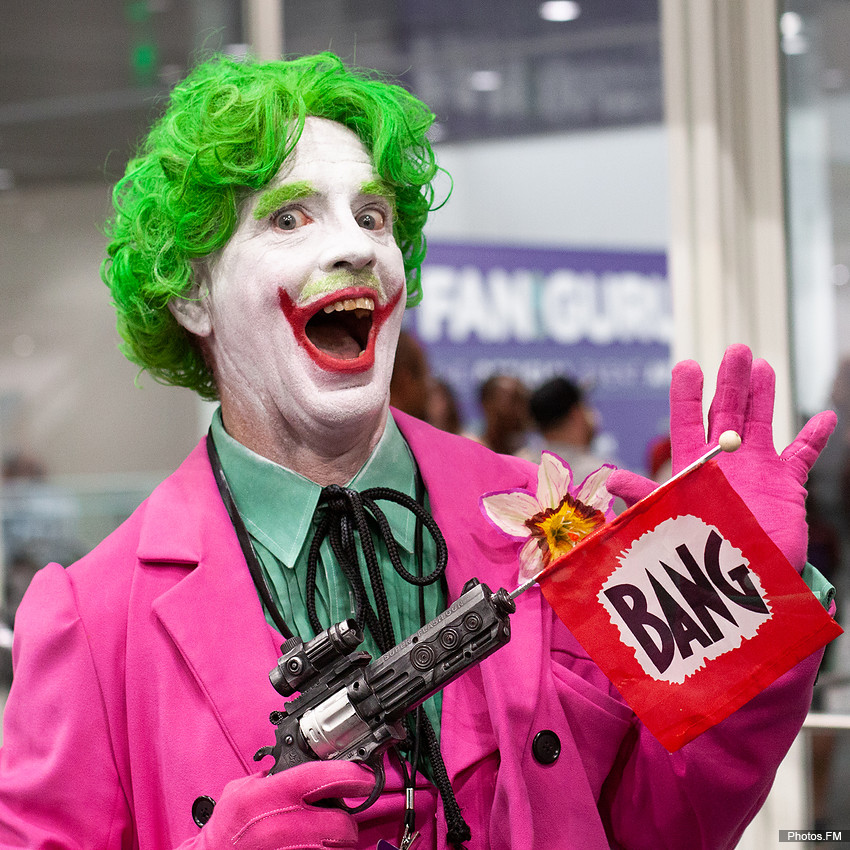 Le Joker - Los Angeles Comic Con